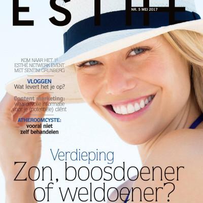 Cover Esthé Magazine mei 2017