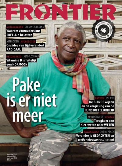 FrontierMagazine mei-juni 2017 cover