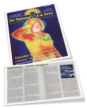 De Natuur Uw Arts cover